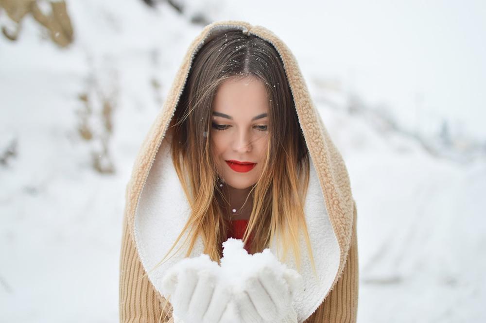 Strnisko v zime  Dnešné ženy v tom majú jasno! 31d35260da